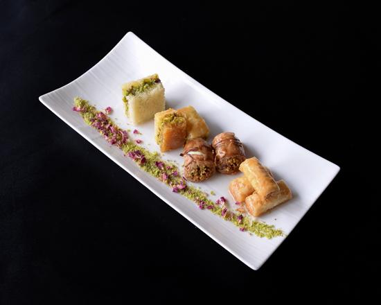 Armani Restaurant Baklava