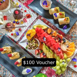 Armani Voucher $100